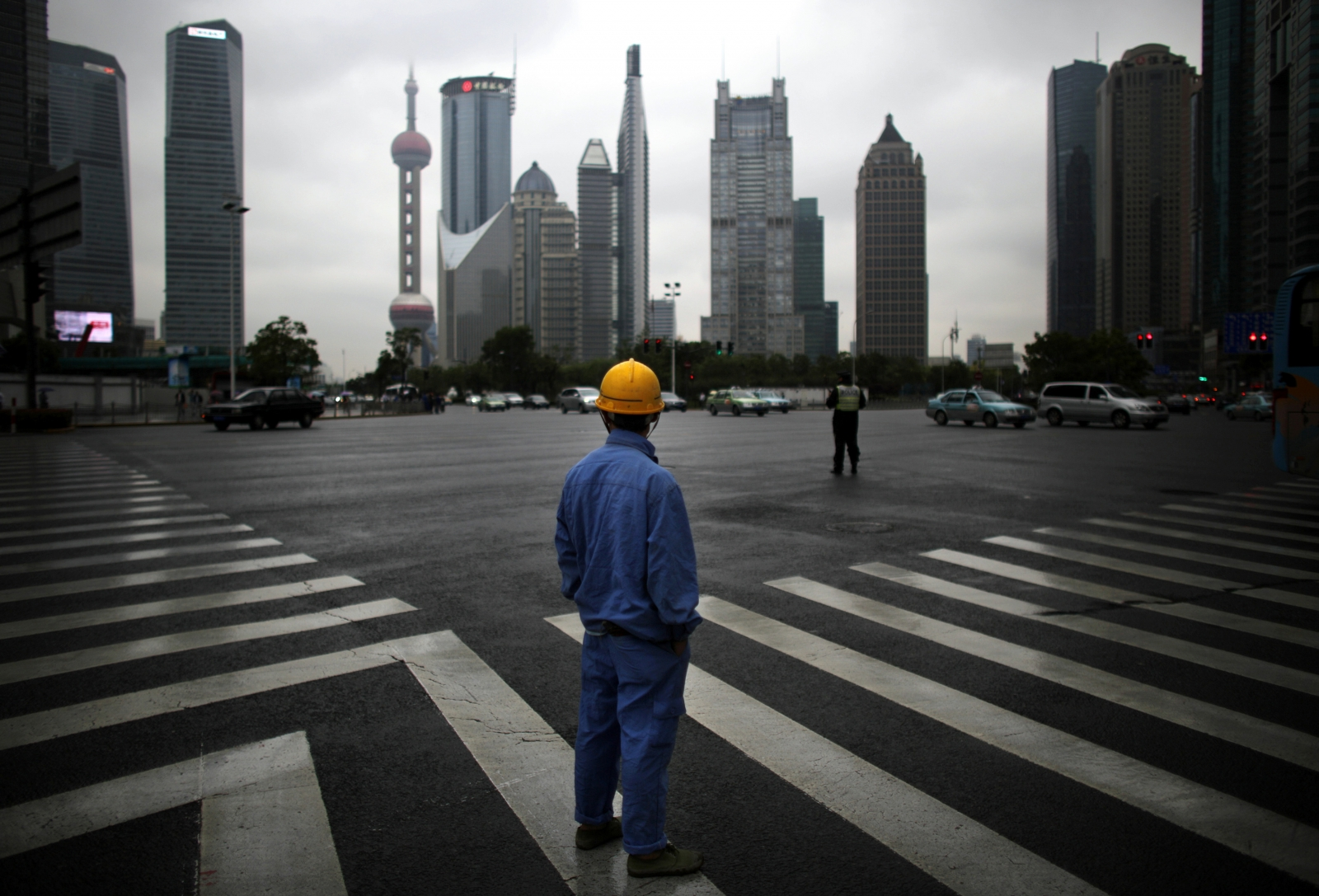 Pudong Financial District, China.