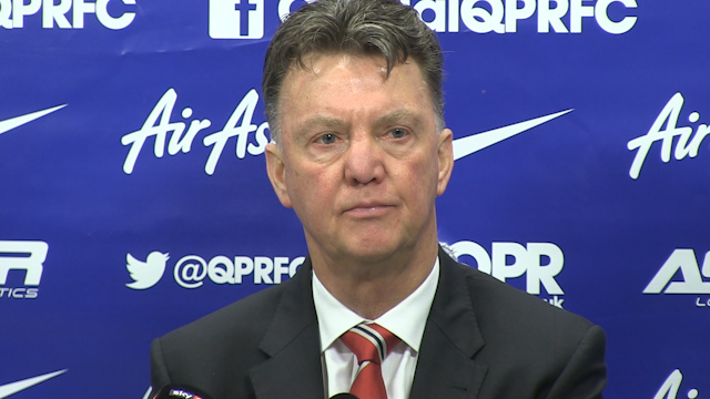 Louis van Gaal: We create more chances playing 4-4-2