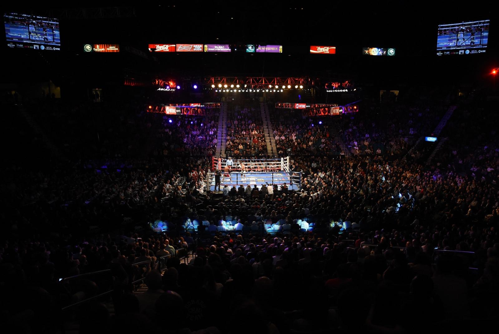 Las vegas boxing