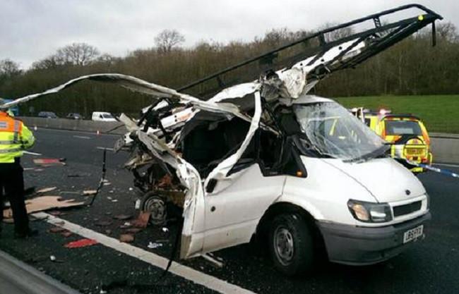 M25 accident