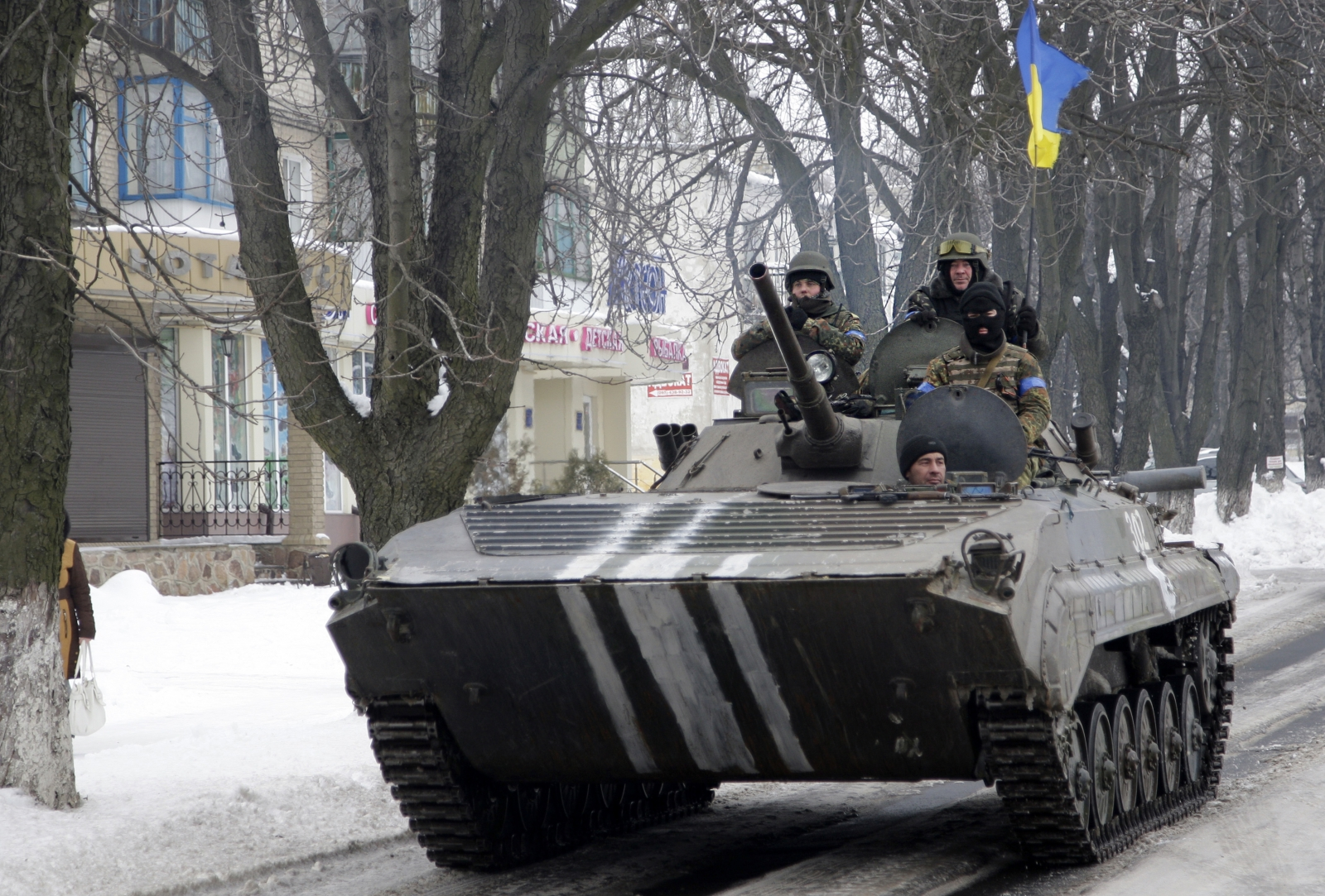 Ukraine-Russia tensions
