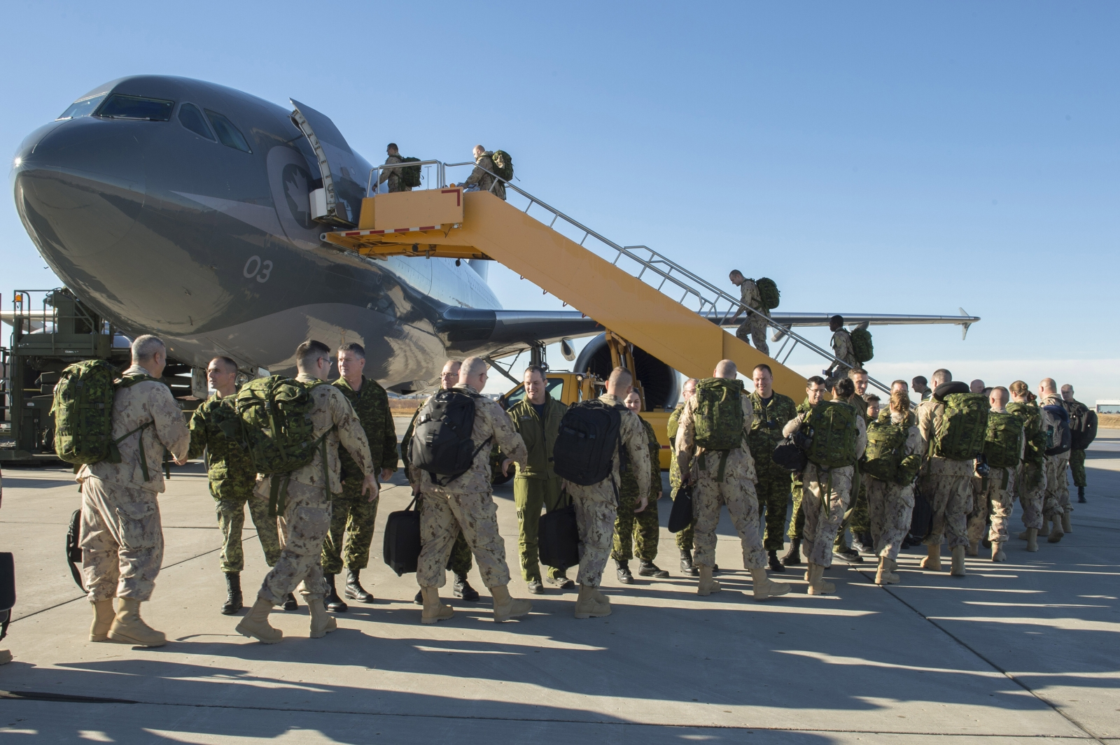 Canadian Armed Forces Iraq ISIS