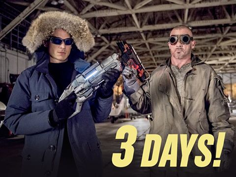 Wentworth Miller and Dominic Purcell  as Captain Cold and Heat Wave