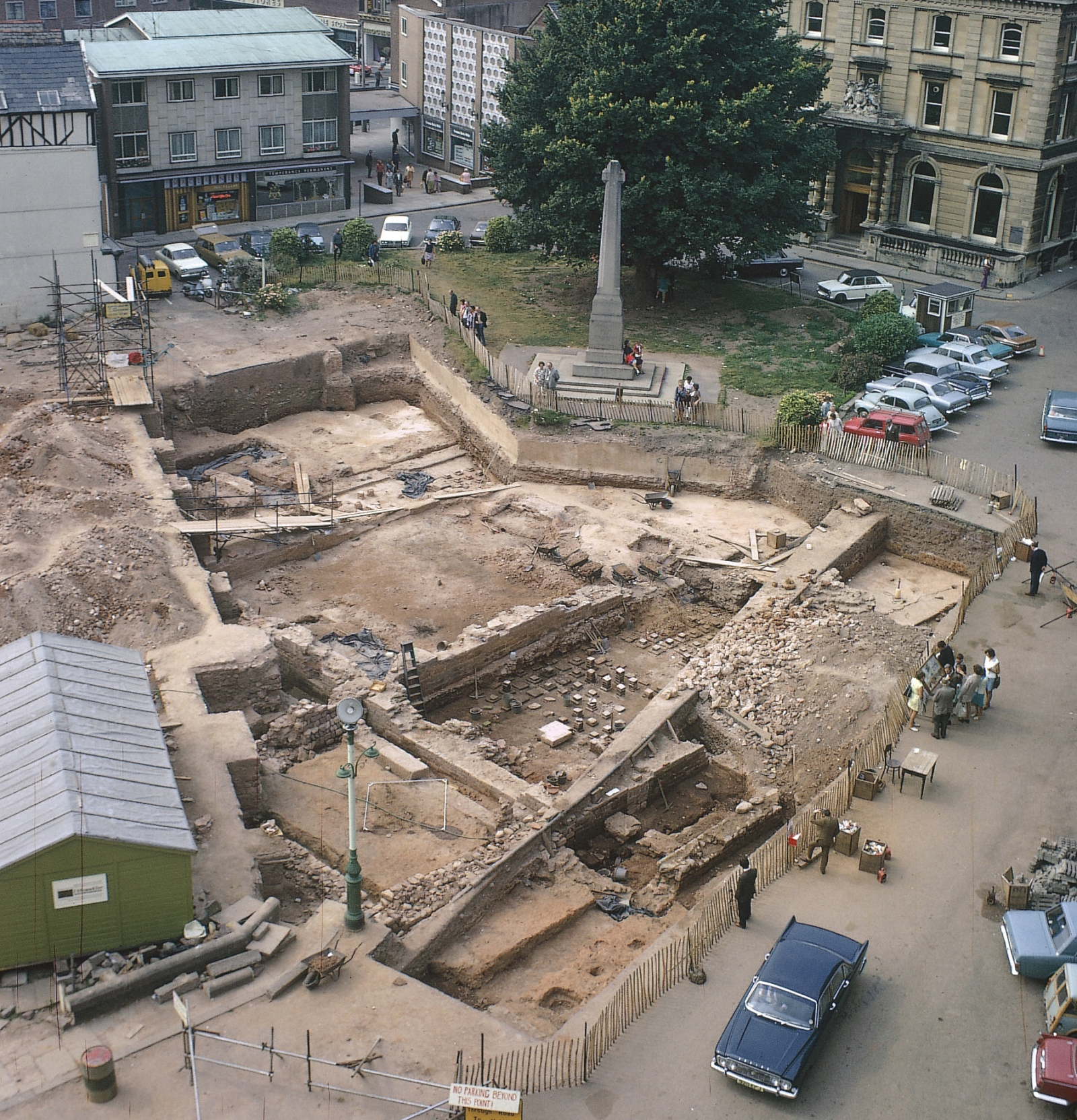 Roman ruins were discovered under the Exeter Cathedral Green in 1971 and have lain underground for almost 44 years, waiting for the funds to restore them