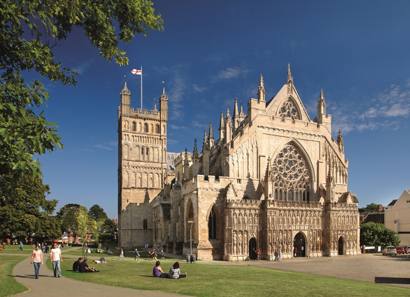 Exeter Cathedral today