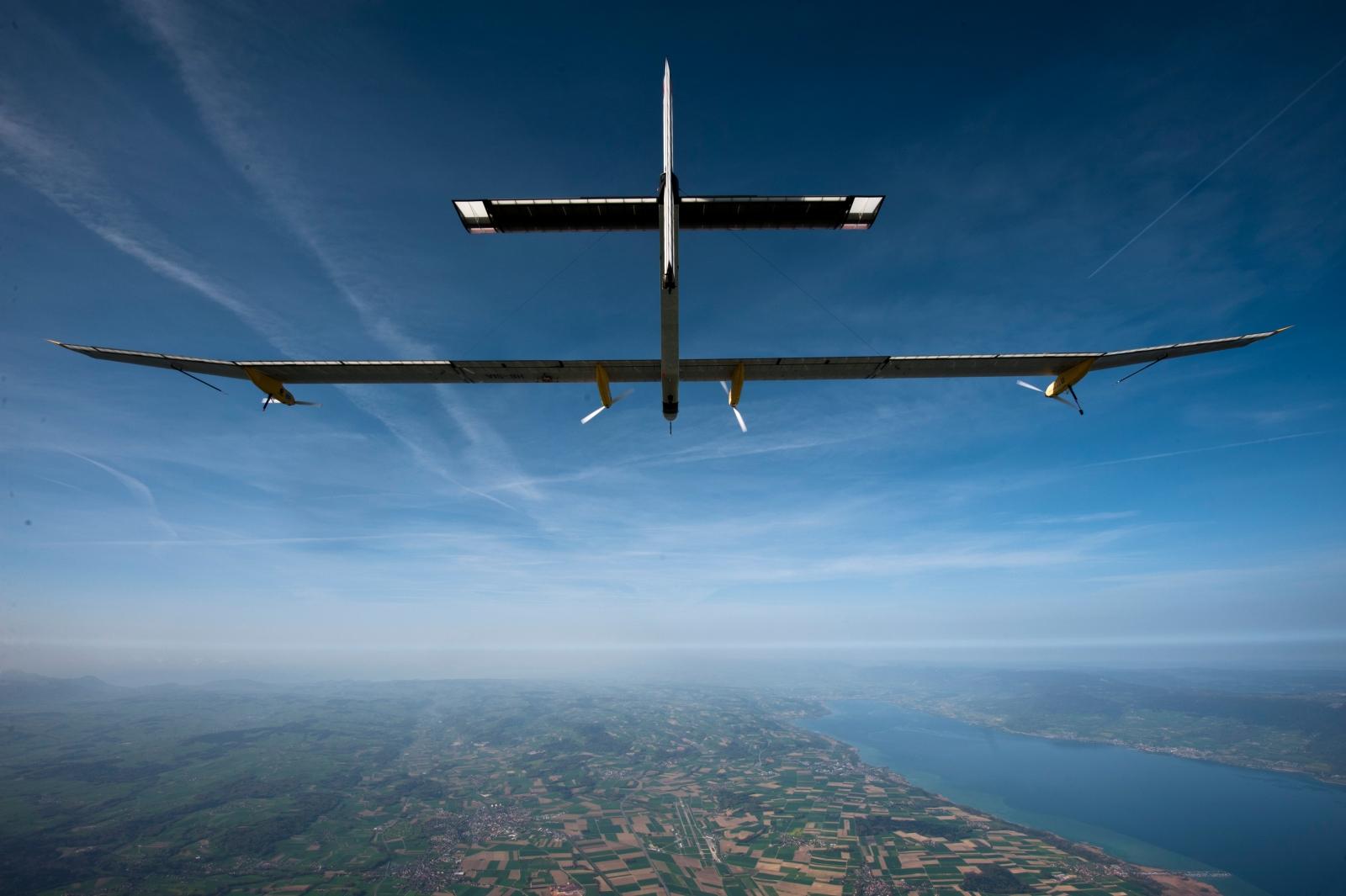 First round-the-world solar flight to take off next month
