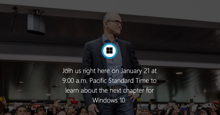 Windows 10 Live Blog