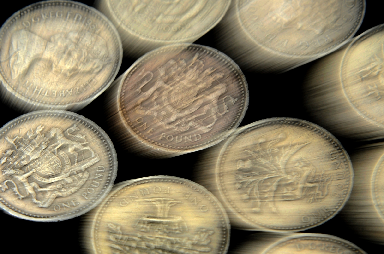 Since the introduction of the pound coin in 1983, the design on the other side from the Queen has changed every year in an attempt to stop fraud