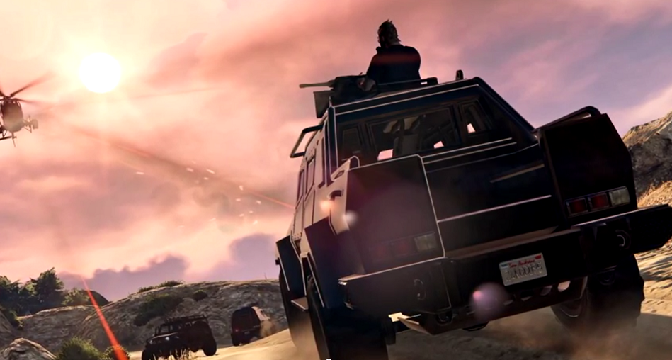 GTA 5 Online Heists DLC vehicle: HVY Insurgent