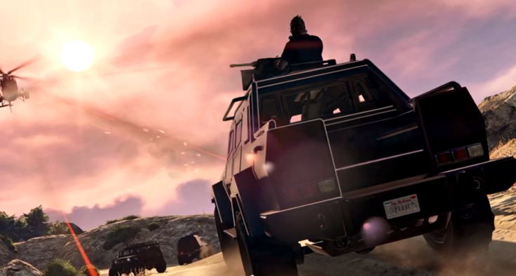 GTA 5 Online Heists DLC vehicle: HVY Insurgent