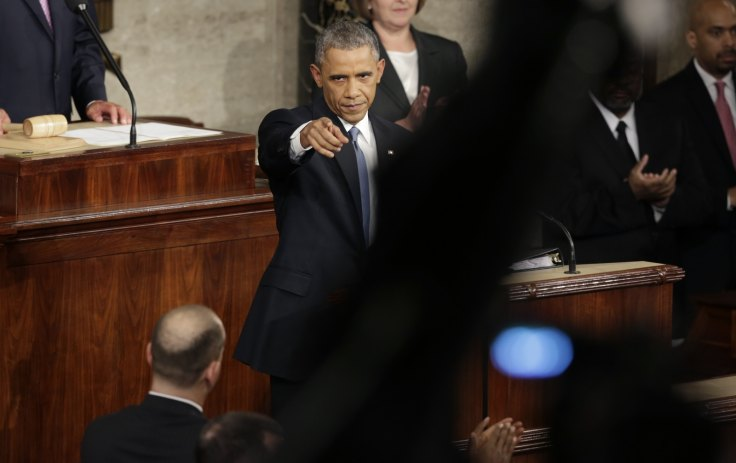 State of the Union address: Obama vows to hunt down terrorists from 'Pakistan to Paris'