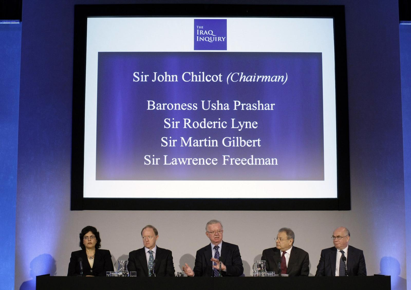 John Chilcot Iraq Inquiry