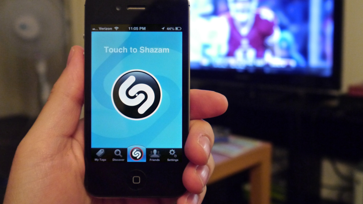 Shazam visual recognition