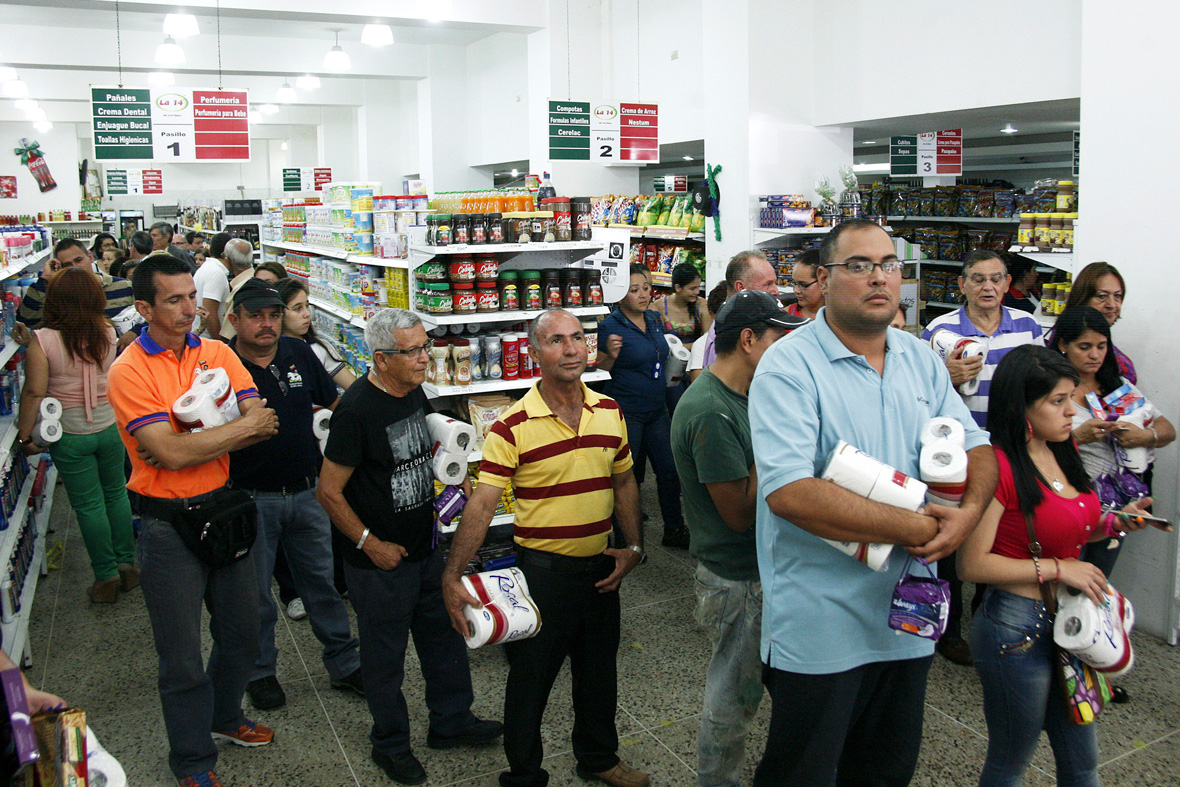 venezuela shortages