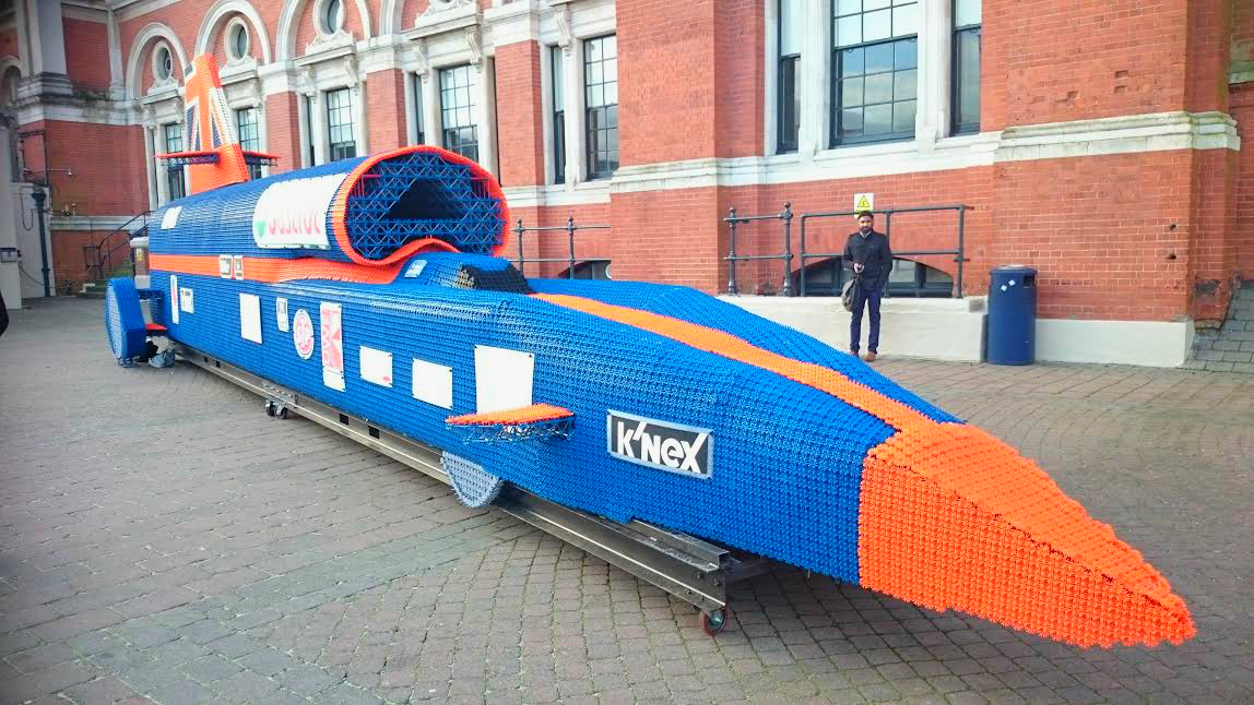 K'Nex sonic car toy fair 2015