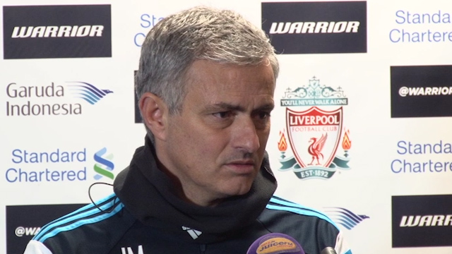 Jose Mourinho bemoans Chelsea passing as Blues scrape a draw at Anfield