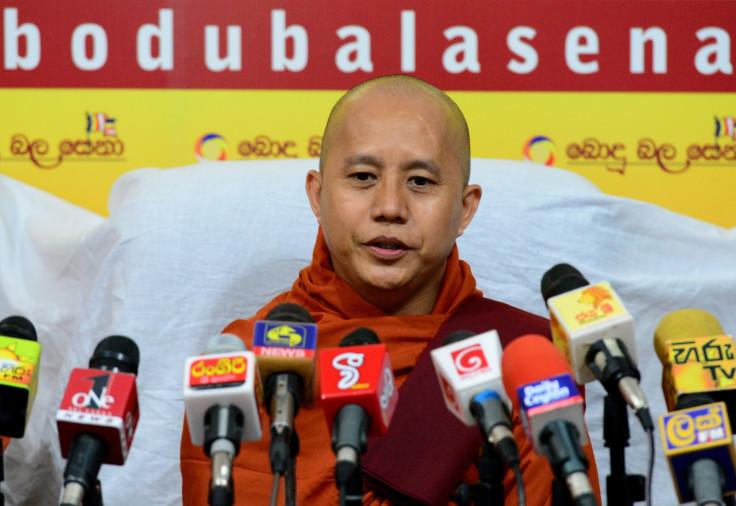Myanmar Buddhist monk Ashin Wirathu