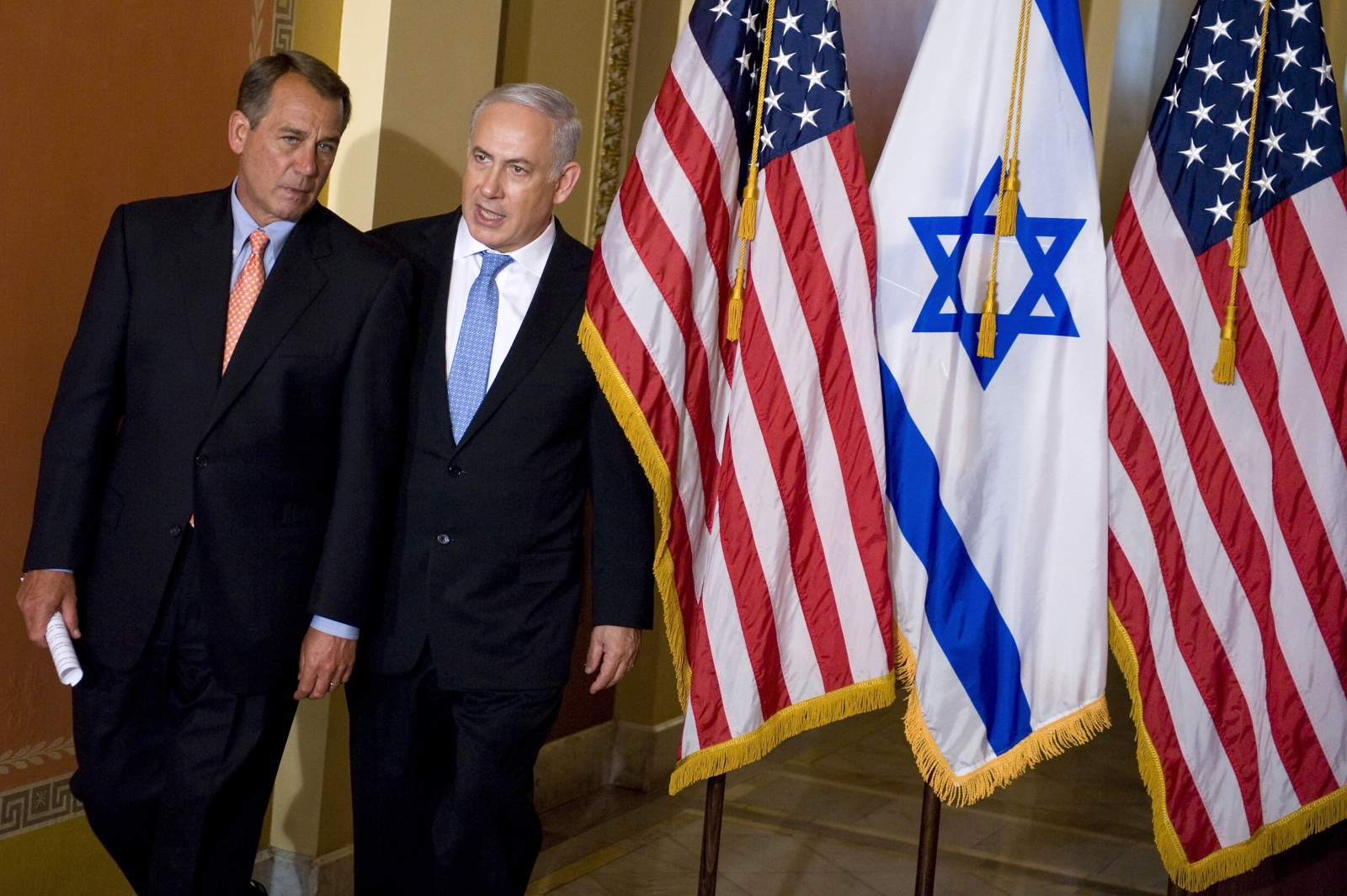 John Boehner Benjamin Netanyahu