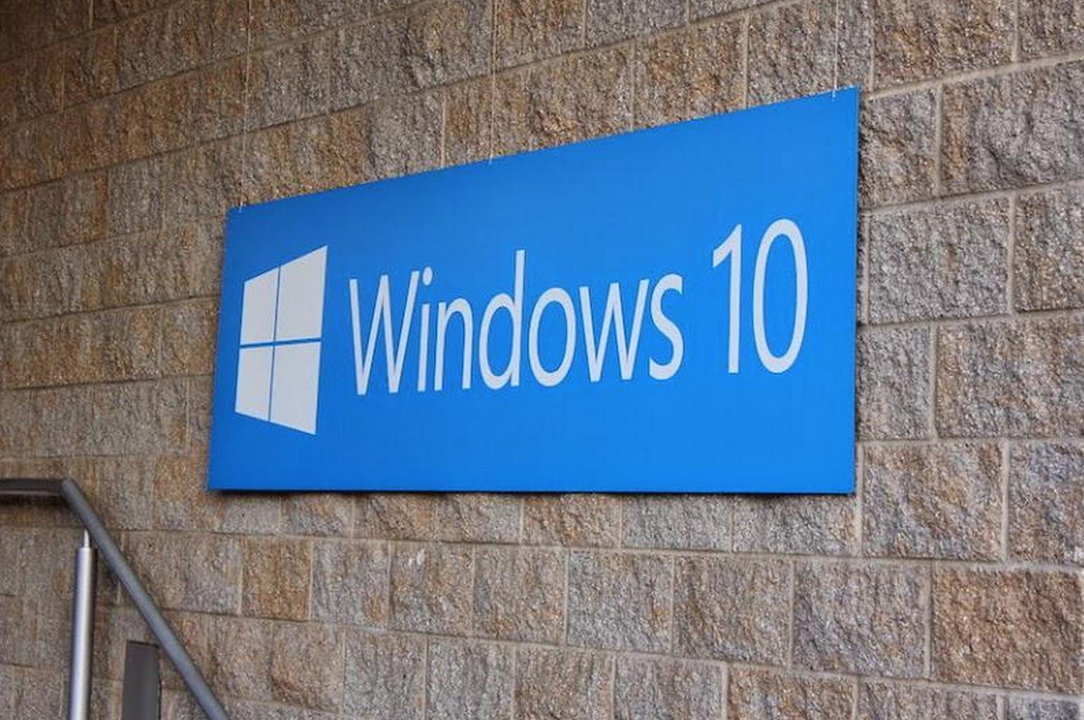 Windows 10 briefing