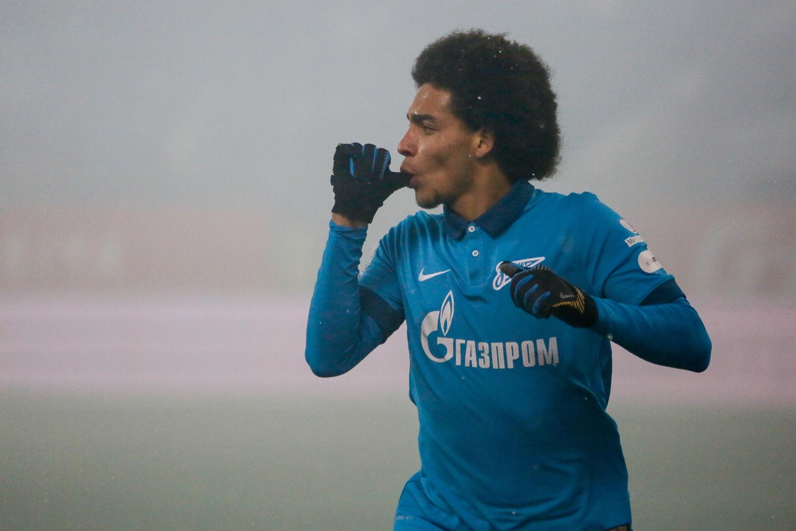 Zenit St Petersburg midfielder Axel Witsel reveals his admiration for Manchester United