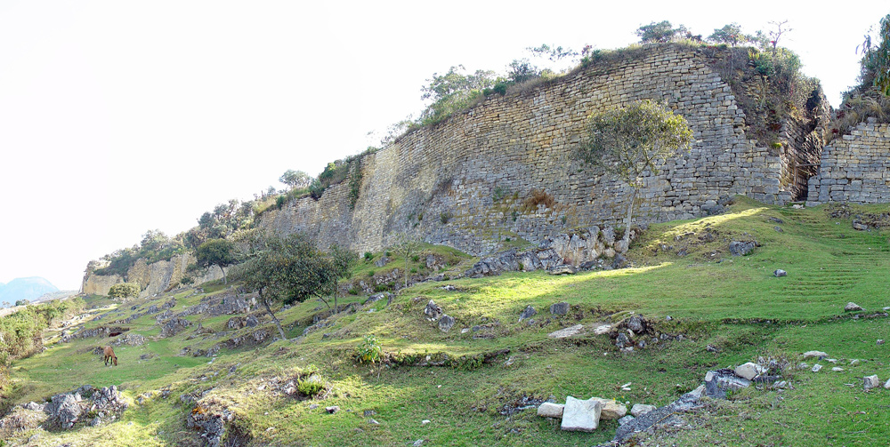 Kuelap in north east Peru is a fortress that began in Neolithic times
