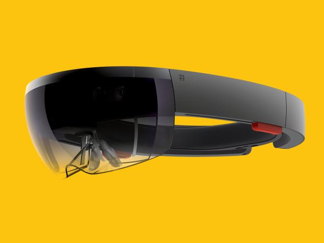 Microsoft HoloLens goggles