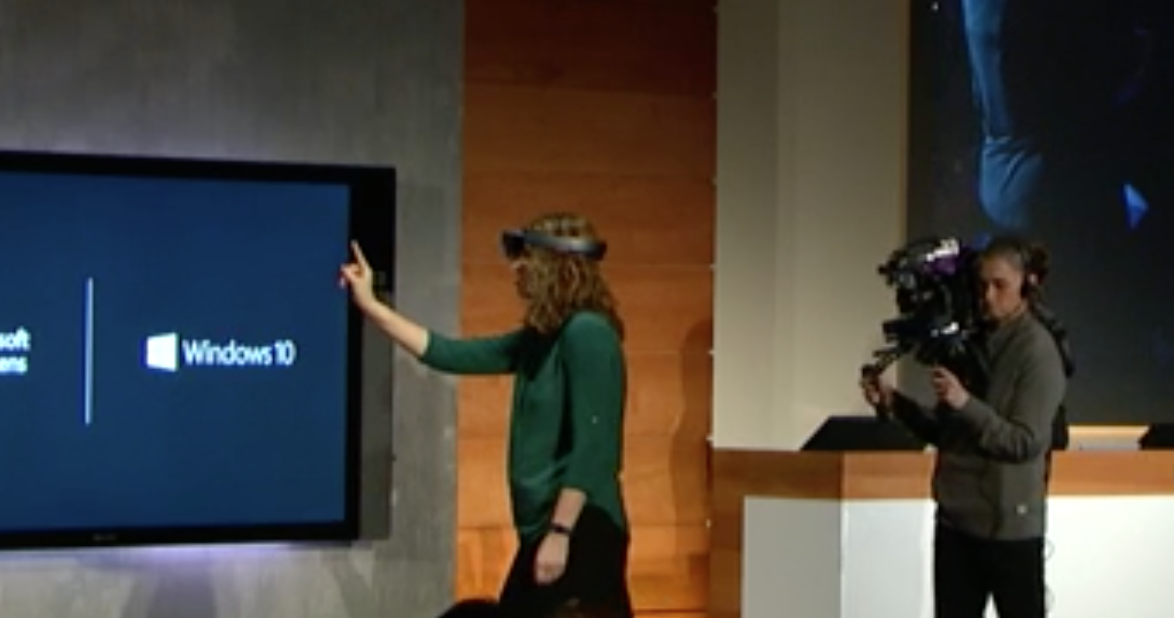 HoloLens demonstration