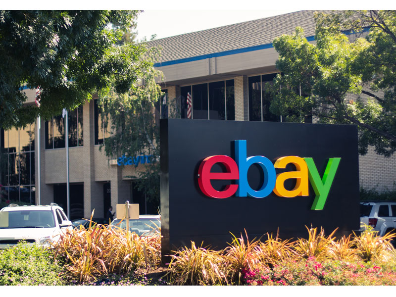 eBay Marketplaces signage (San Jose)