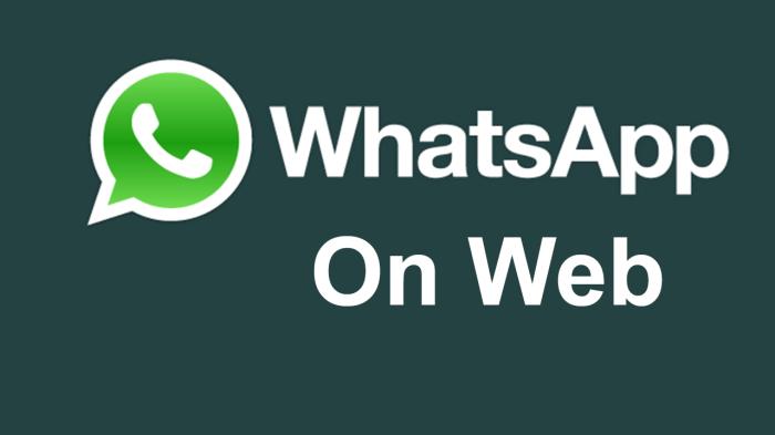 WhatsApp web client