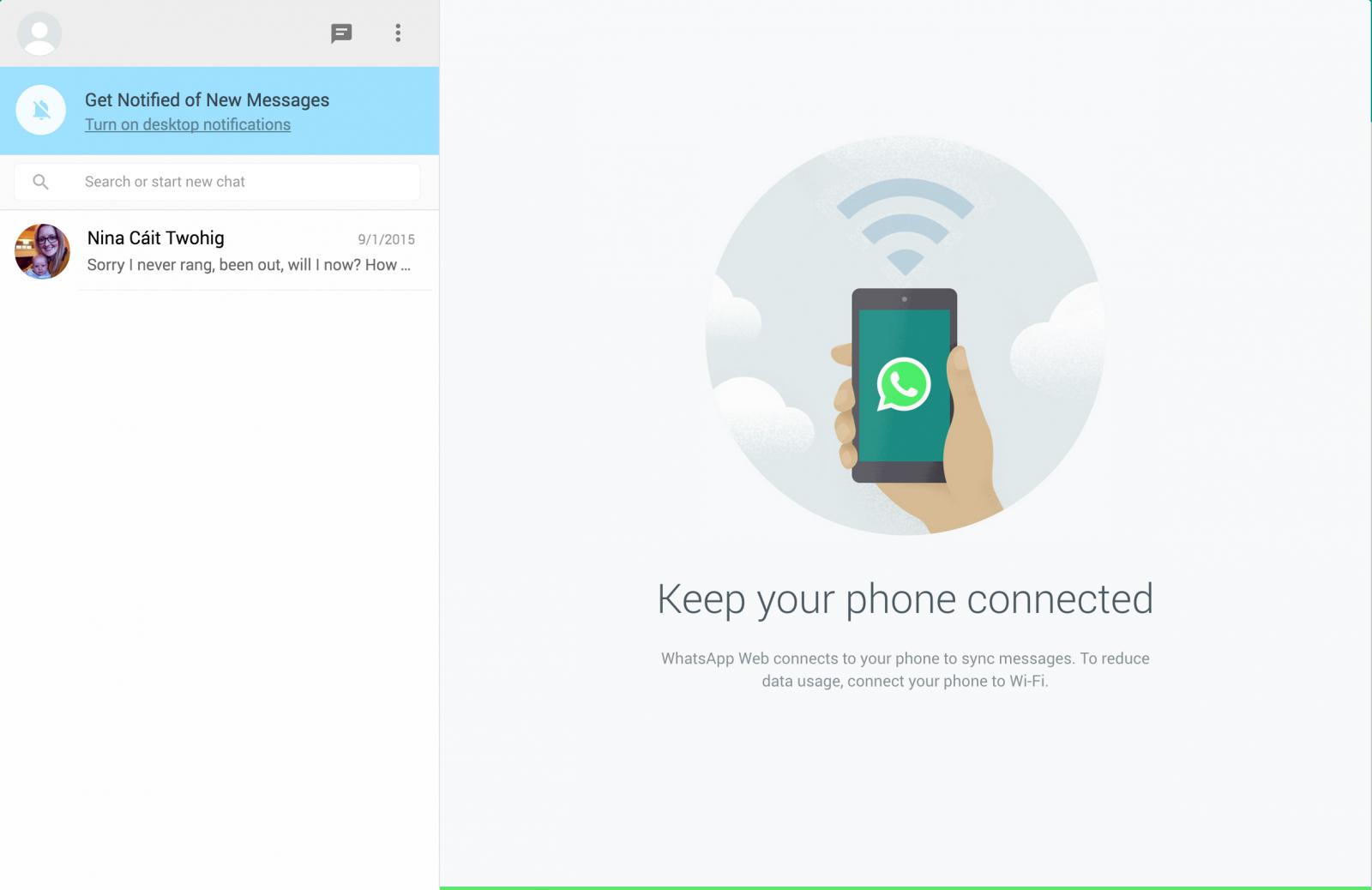 WhatsApp Web: How to use WhatsApp on a PC