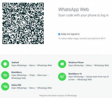 How to use WhatsApp Web for iOS