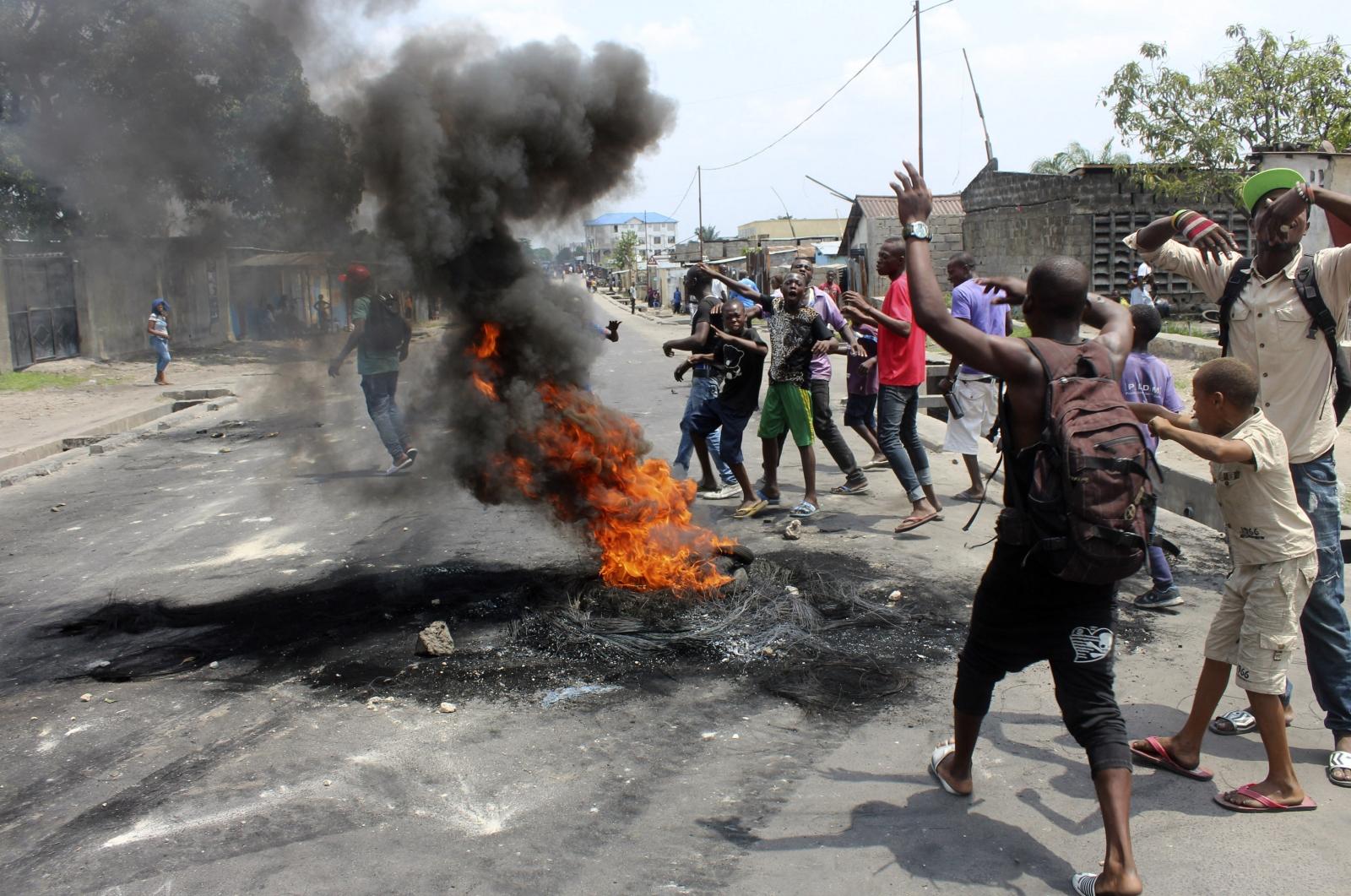 Democratic Republic of Congo protest