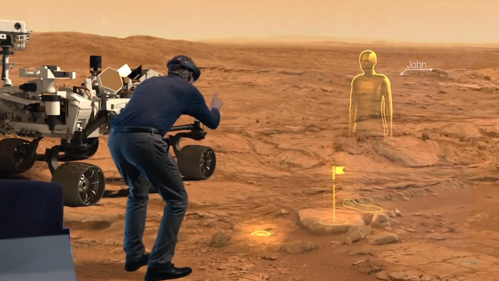 Microsoft's HoloLens goggles mean Nasa scientists can work ...