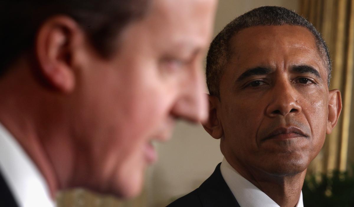 David Cameron Obama