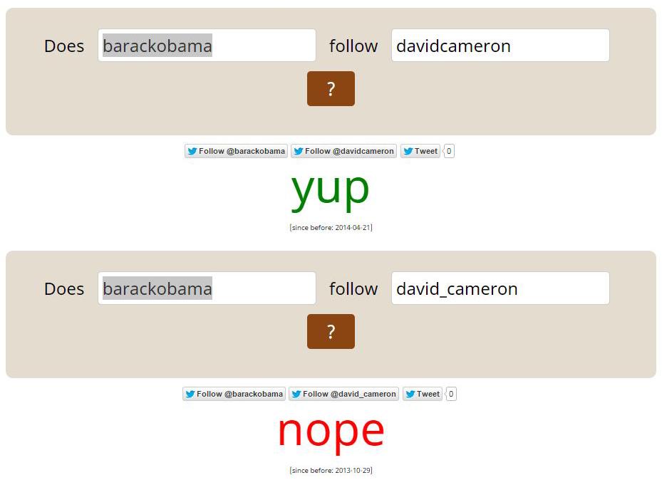 Obama Cameron Twitter