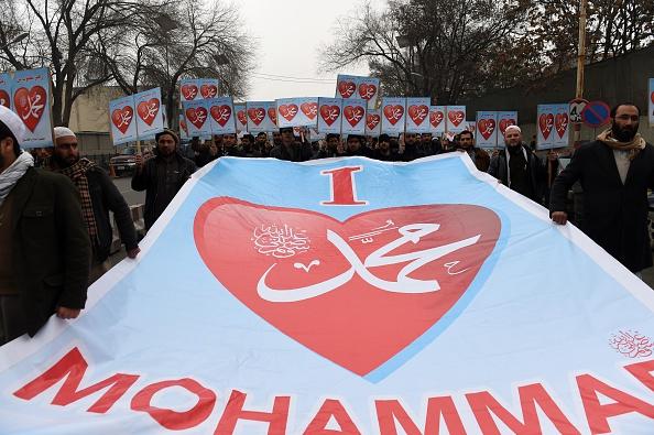 anti-Charlie hebdo protest Afghanistan