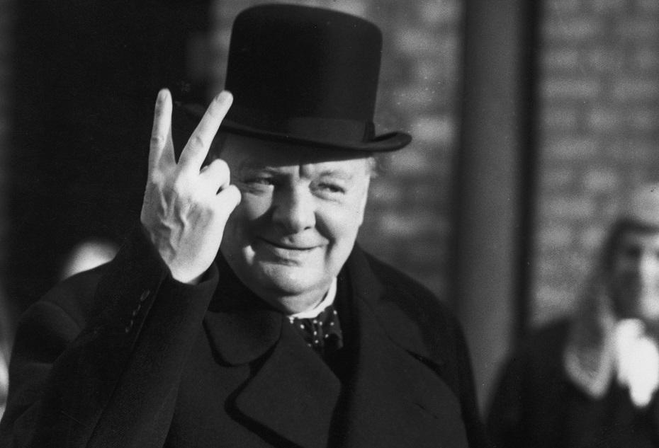 Churchill finger