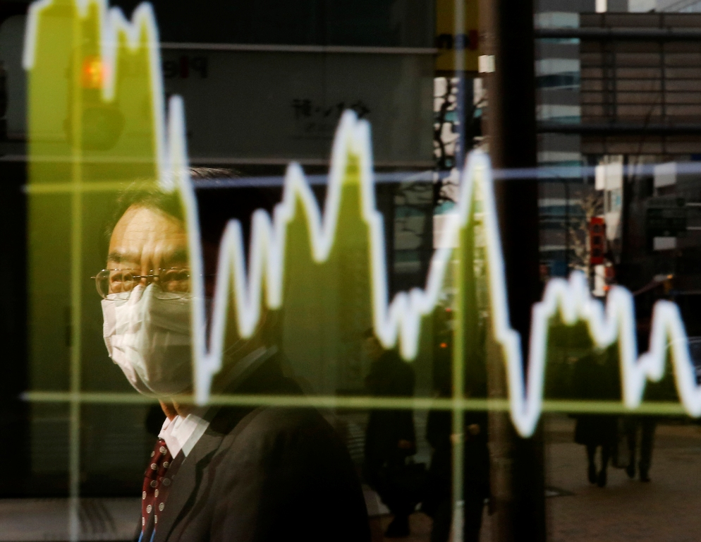 Asian markets hit new highs on ECB QE but some pare gains