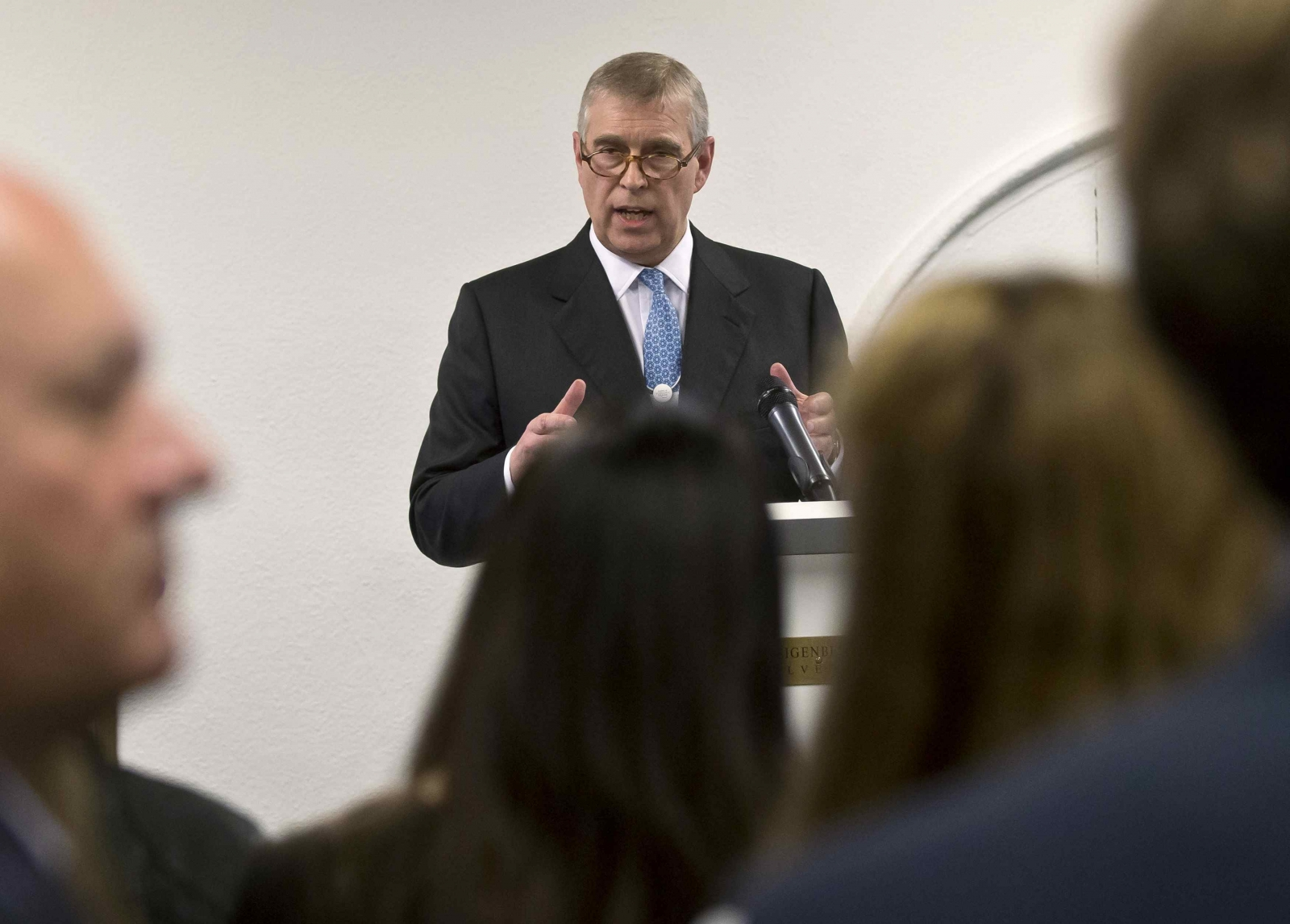 Prince Andrew publicly denies allegations of underage sex