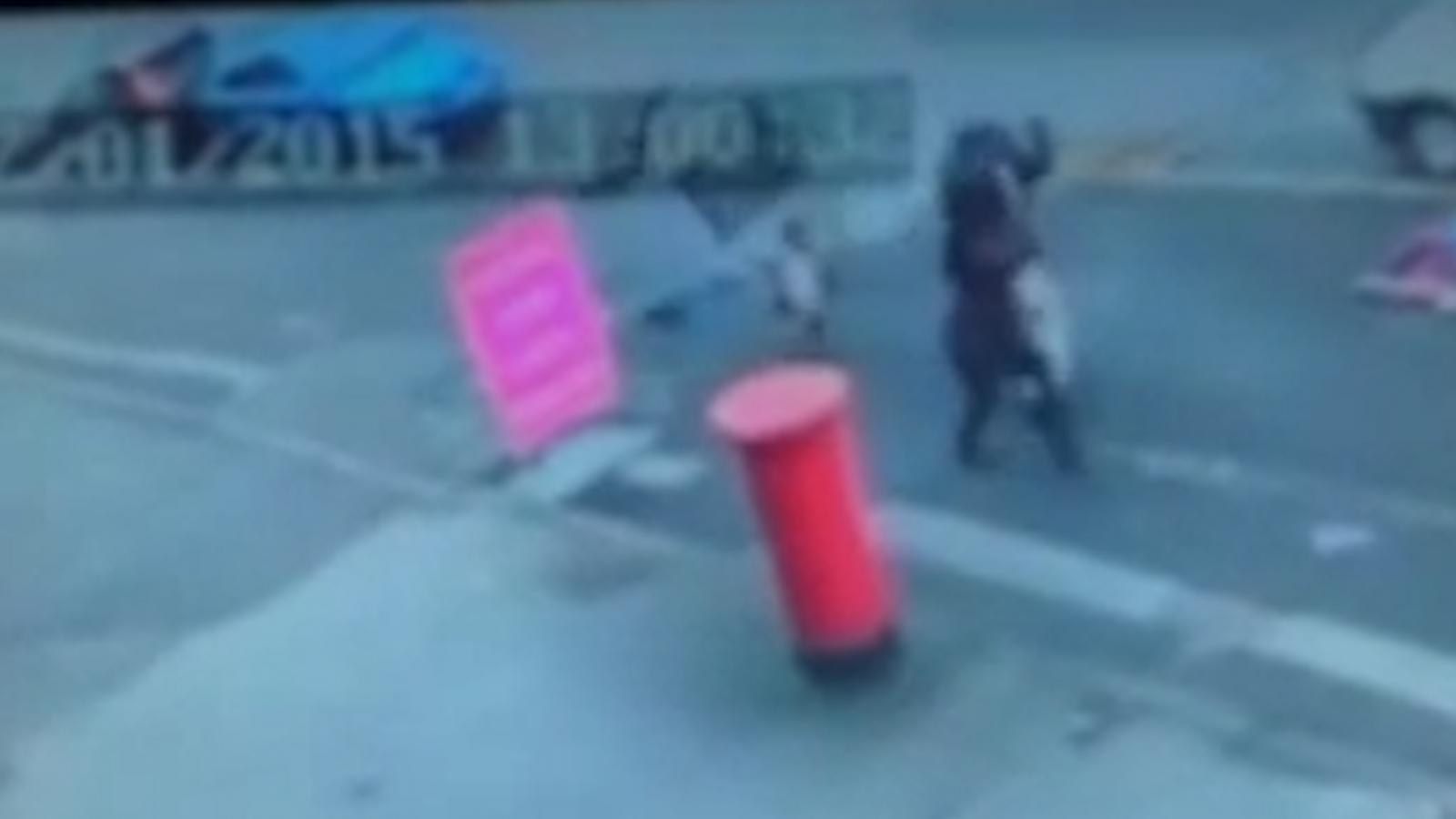 Exploding manhole cover narrowly misses child in Birmingham