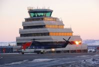 Flight EZE502 in emergency landing at Aberdeen Airport