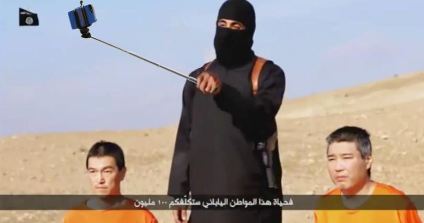 Isis Japanese hostages