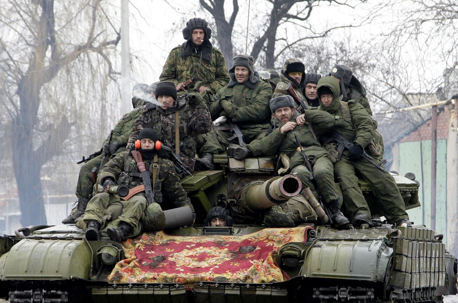 Pro-Russian rebels