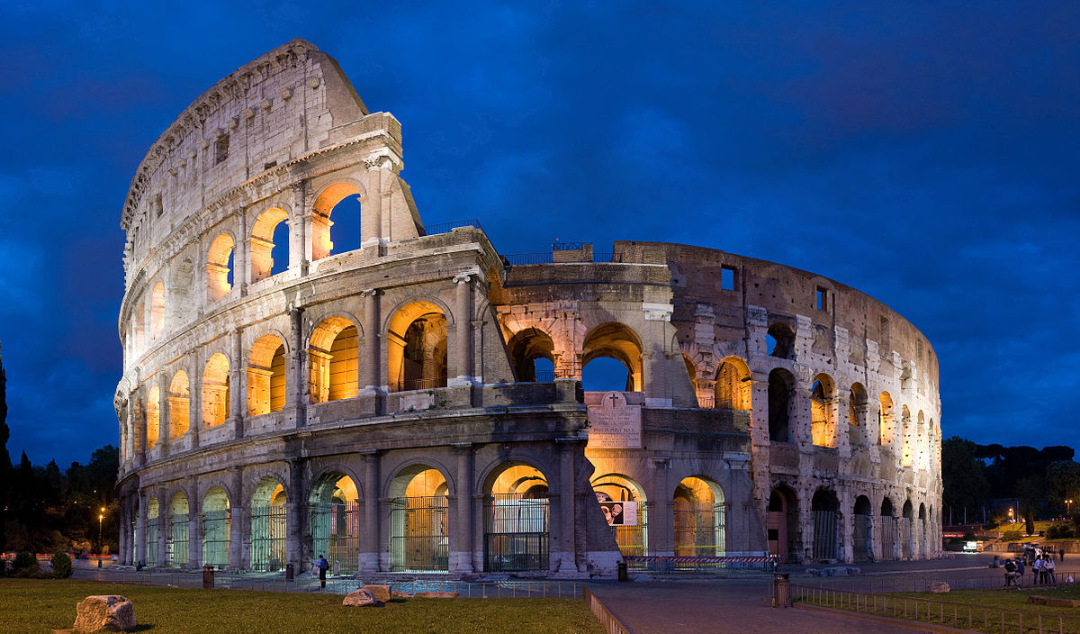 In ancient Roman times, red painted numbers would have been visible on four arches from far away to direct people to their seats