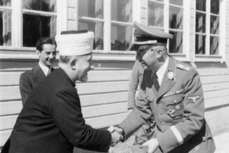 Grand Mufti of Jerusalem and Heinrich Himmler