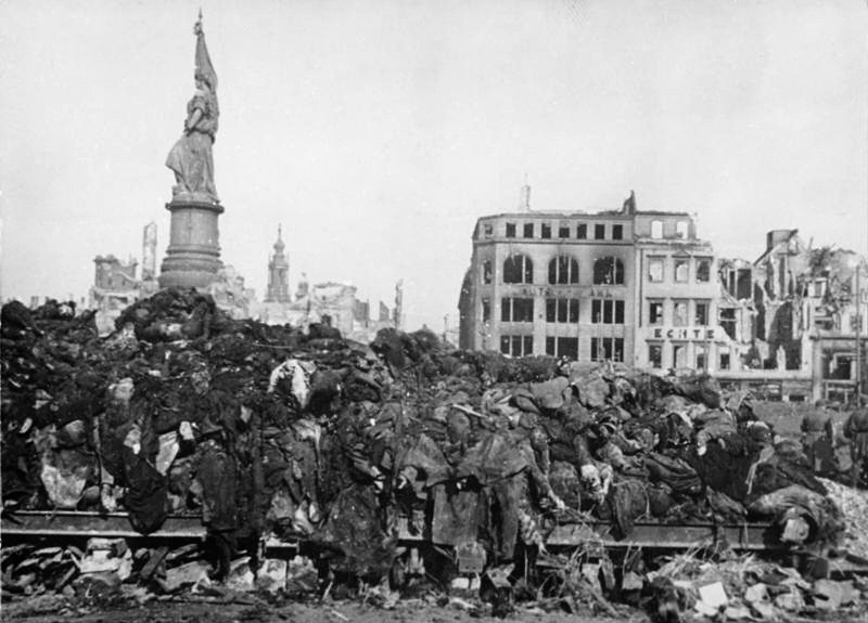 a speech on the 50th anniversary of the terror bombing in dresden germany