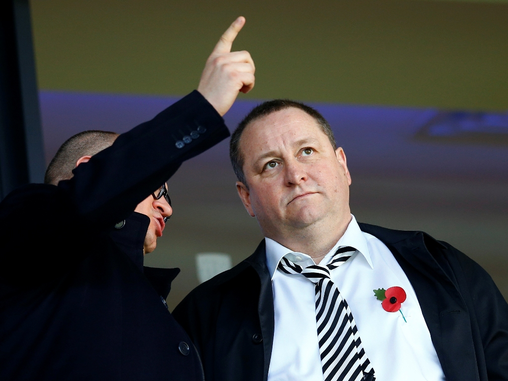 Mike Ashley increases Debenhams interest but rules out a bid