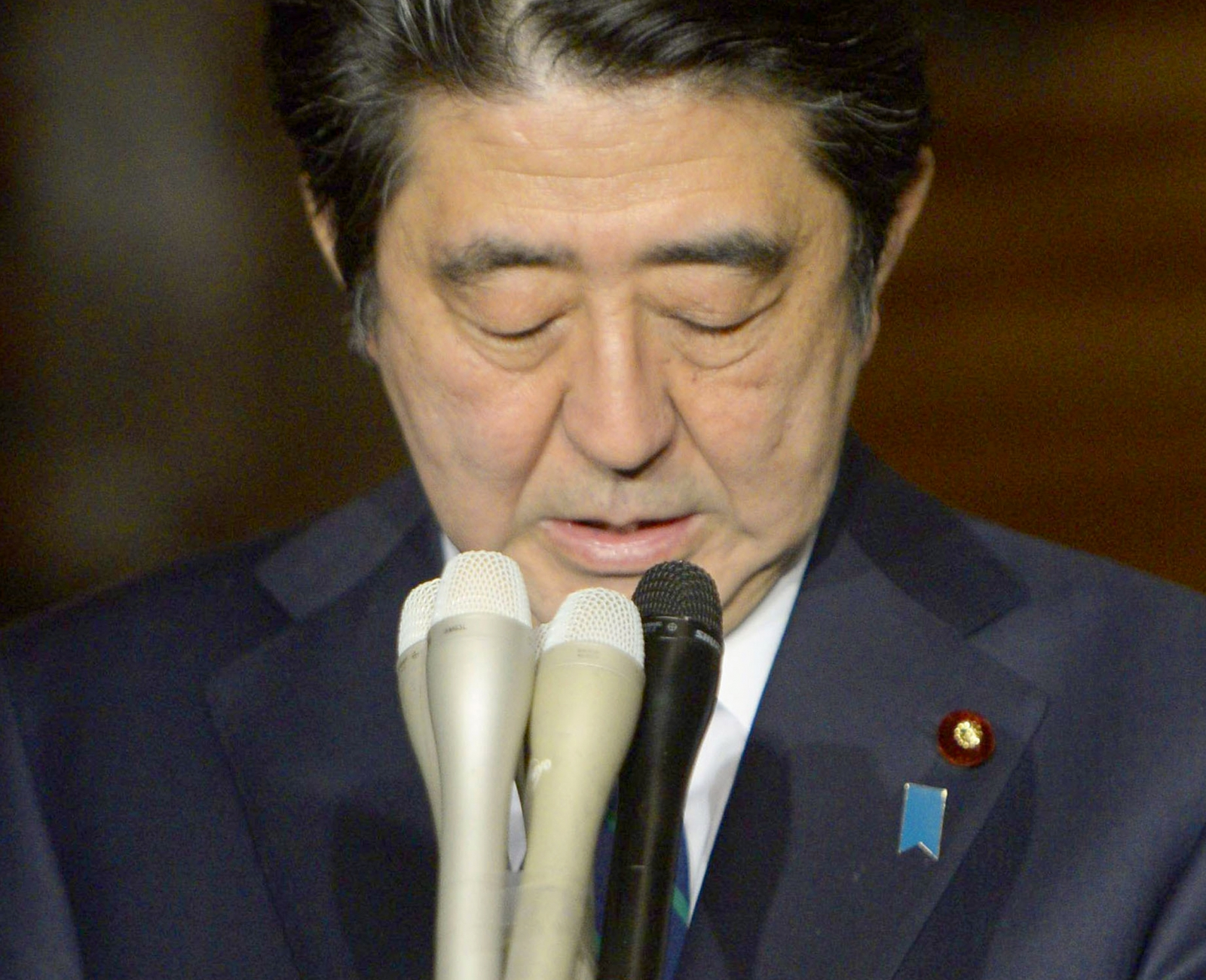 Japan Shinzo Abe WWII statement