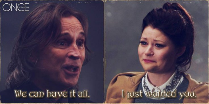 Rumple and Belle in Once Upon A Time