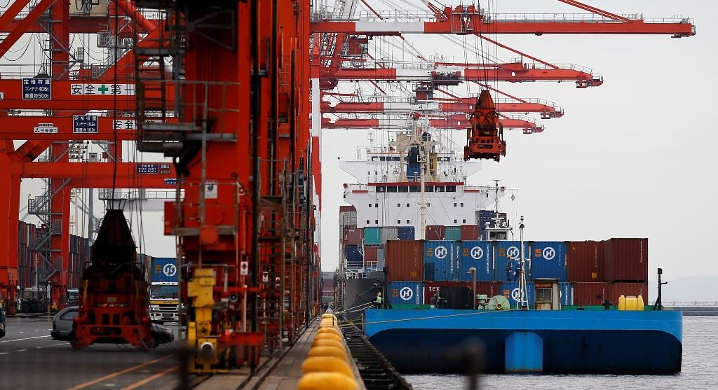 Japan's exports jump on weak yen and better overseas demand